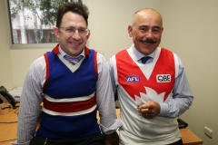 Western Sydney Local Health District Executive Director of Finance Barry Mitrevski and Corporate Gonvernance Director Doug Catchpole