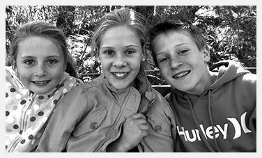JERSEY DAY Nathan, AJ and Annaliese Gremmo