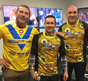JERSEY DAY Matty Johns Show - Matty Johns, Bryan Fletcher and Gordon Tallis