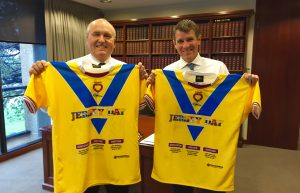 JERSEY DAY Mike Baird and David Elliott