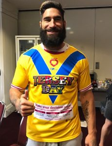 JERSEY DAY James Tamou
