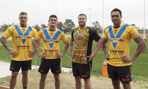 JERSEY DAY Penrith Panthers Trent Merrin and Nathan Cleary