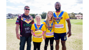 JERSEY DAY Gremmo and Semi Radradra