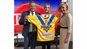 JERSEY DAY The Today Show with Tim Gilbert, Deb Knight and Sarrah Le Marquand