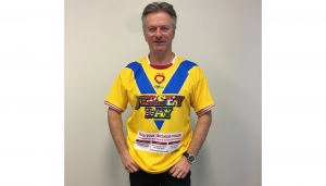 JERSEY DAY Steve Waugh