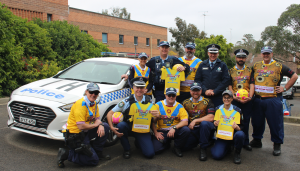 NSW Police force jersey day