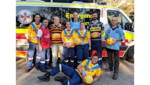 NSW Ambulence Jersey Day jerseys
