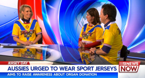press coverage channel 9 jersey day