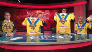jersey day channel 9 sunday nrl footy show